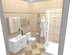 Плитка Феличе (Felice) в ванной